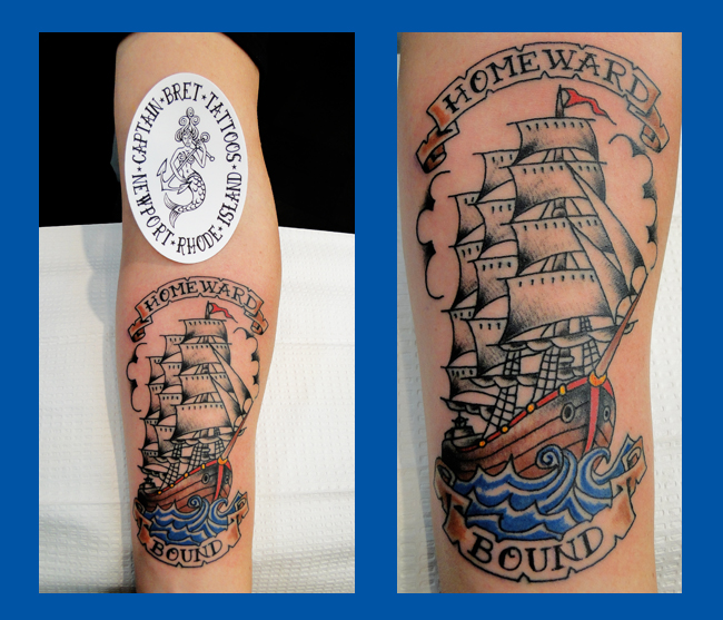 Newport Ri Tattoos Tattoos By Captain Bret Amp Celtic Tattoo Traditional Tattooing Pictures And