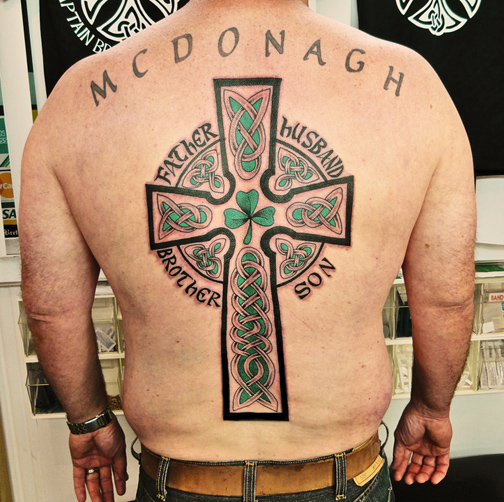 d1c9ed77b The Celtic Cross is visually a very appealing design shape to the Tattoo  enthusiasts eye.