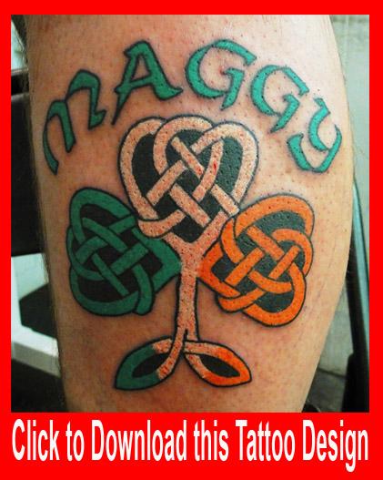 Shamrock+trinity+tattoo