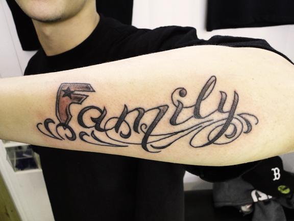 Gangster Tattoo Fonts