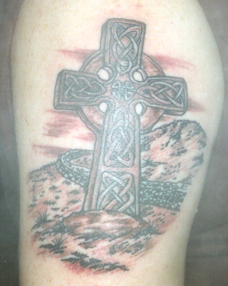 Buy a Celtic Cross Tattoo design - INSTANT DOWNLOAD - Tattoo design Store