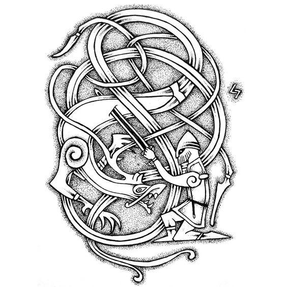 Amon amarth tattoo