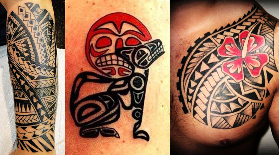 Tribal & Polynesian Tattoos Portfolio by Captain Bret, Newport, RI